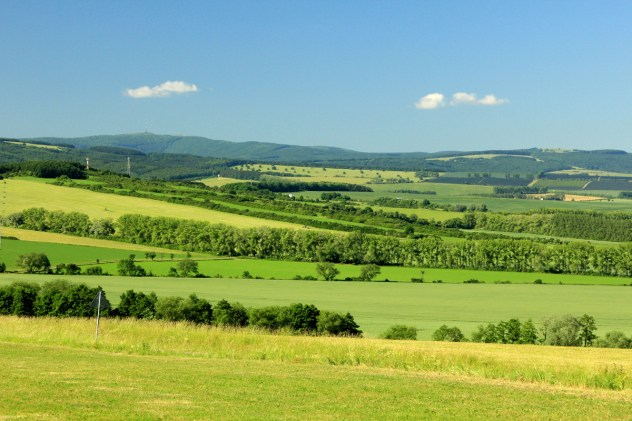 Krajina Hluckého bioregionu.