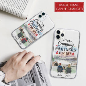 Camping Couple Personalized Phone Case