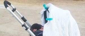 Pinzas para sujetar la muselina al carrito del bebé