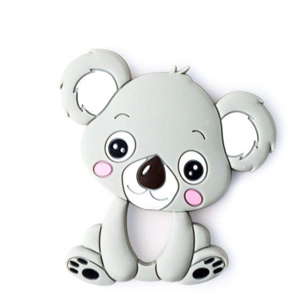 Mordedor para bebés Koala gris de Mordisquitos