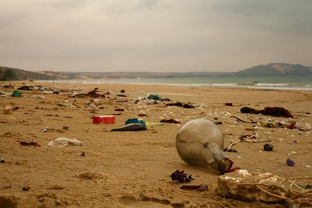 Residuos plásticos en el medio ambiente