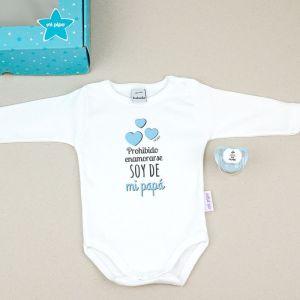 Pack especial dia del padre regalo papa bebe