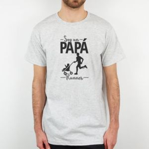 Camiseta regalo día del padre regalo papa soy un papa runner