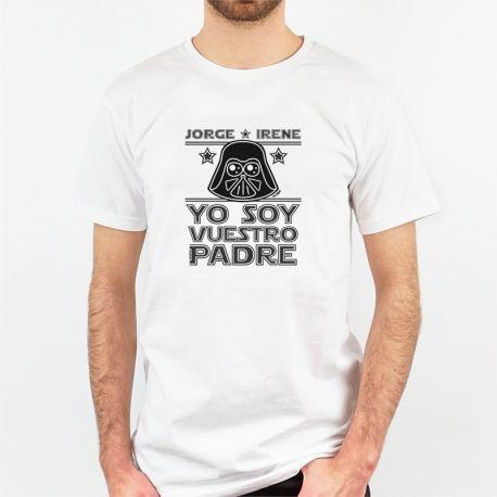 Camiseta regalo original yo soy tu padre la guerra de las galaxias dark vather