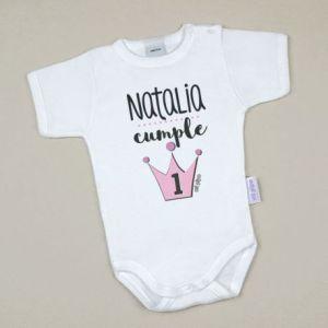Body personalizado bebé babidu algodón cumpleaños