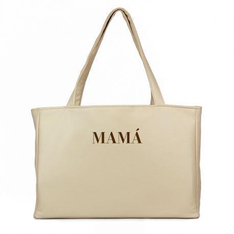 Bolso shopper polipiel personalizado regalo día de la madre regalo mama
