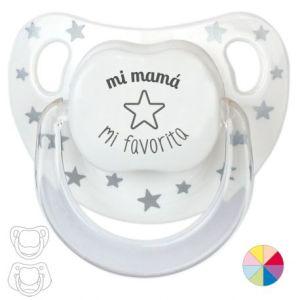 Chupete bebé frases divertidas día de la madre regalo mama