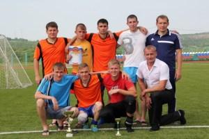 Серебряные призеры турнира «ДЮСШ» (Инсар)