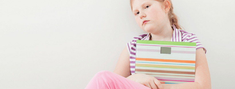 Studies show that at least 80% of 10-year-old girls are afraid of being fat.