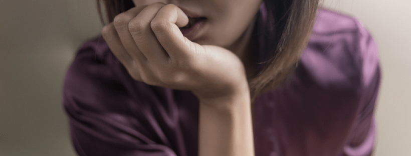 young woman wondering whether an eating disorder is an addiction