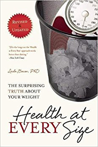 Health at Every Size is a helpful guidebook for people who struggle with body image and size discrimination while in recovery for an eating disorder