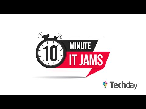10 Minute IT Jams - Mimecast Exec on the Threat of Ransomware