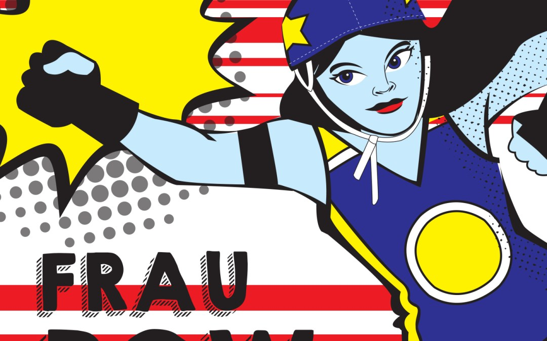 "Trailer – NEW SHOW! "" Frau Pow Podcast"""