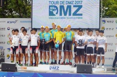 松田祥位が個人総合7位を守りレース終了【第4ステージ】2017 Tour de DMZレポート