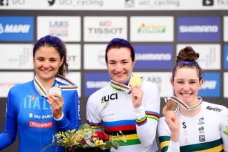ロード世界選手権2017ジュニア女子タイムトライアル
