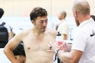 2017年7月ジャパン・トラック・カップでの新田祐大選手