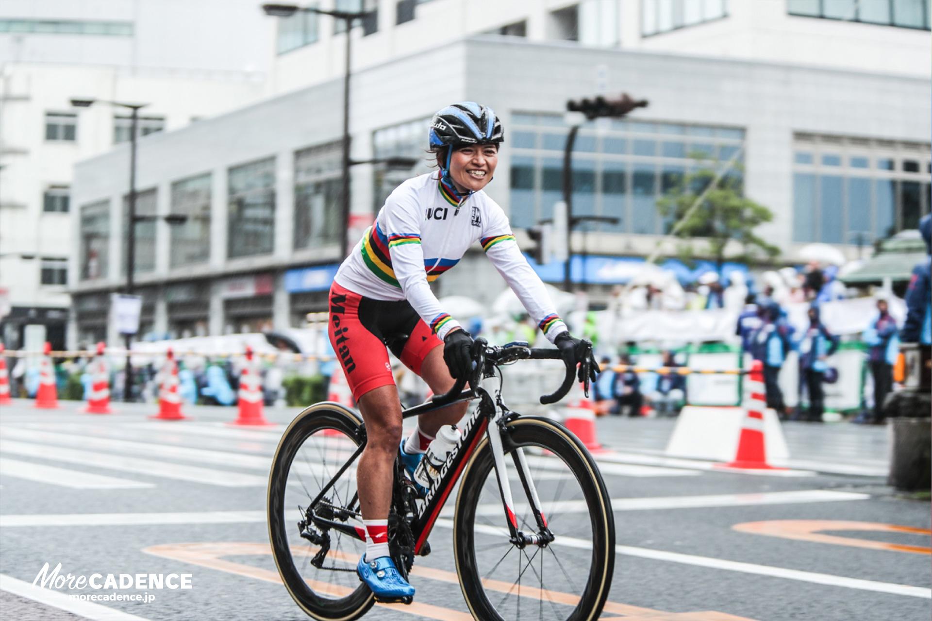 パラサイクリング世界選手権で金メダル獲得の野口桂子選手
