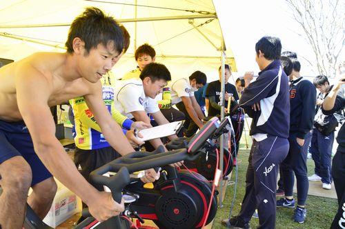 ペダリングパワーチャレンジ in 鹿屋体育大学