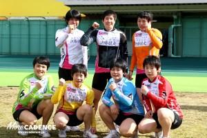 女子決勝メンバー
