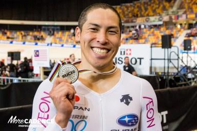 【速報】河端朋之が世界選手権で25年ぶり銀メダル/男子ケイリン・トラック世界選手権2018