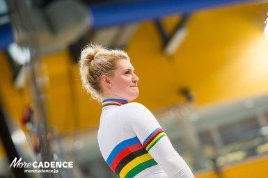 ケイリン世界王者は21歳の美女!ニッキー・デグレンデレが決勝を制す/トラック世界選手権2018・女子ケイリン