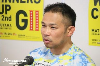 初日12Rは新田が捲るも、吉田が差して1着「このメンバーで走るのは勇気がいる」/第2回ウィナーズカップ 松山競輪場