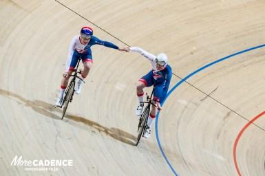 男子チームパシュート決勝、イギリスがデンマークを下し優勝/トラック世界選手権2018