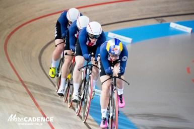 アメリカが世界選手権でイギリスを下し3連覇、ダイガート「見据えるは東京五輪」・女子チームパシュート/UCIトラック競技世界選手権大会
