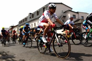 今村、近谷、橋本が集団スプリントを狙う最前列に位置取り/Fleche du Sud 第4ステージ