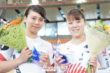 日本の小林優香&太田りゆがケイリンでワンツー/モスクワグランプリ2018・女子ケイリン