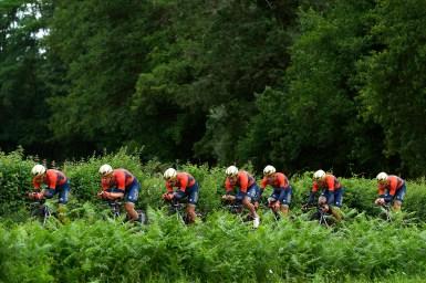新城幸也「楽なチームタイムトライアルなんてない」/クリテリウム・ドゥ・ドーフィネ第3ステージ Team ユキヤ通信 2018 NO.38