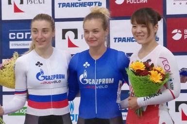 小林優香、3位決定戦で勝利し表彰台獲得/モスクワグランプリ2018・女子スプリント