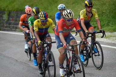 新城幸也、1級山岳を1位で通過/アドリアティカ・イオニカレース 第3ステージ Team ユキヤ通信 2018 NO.44