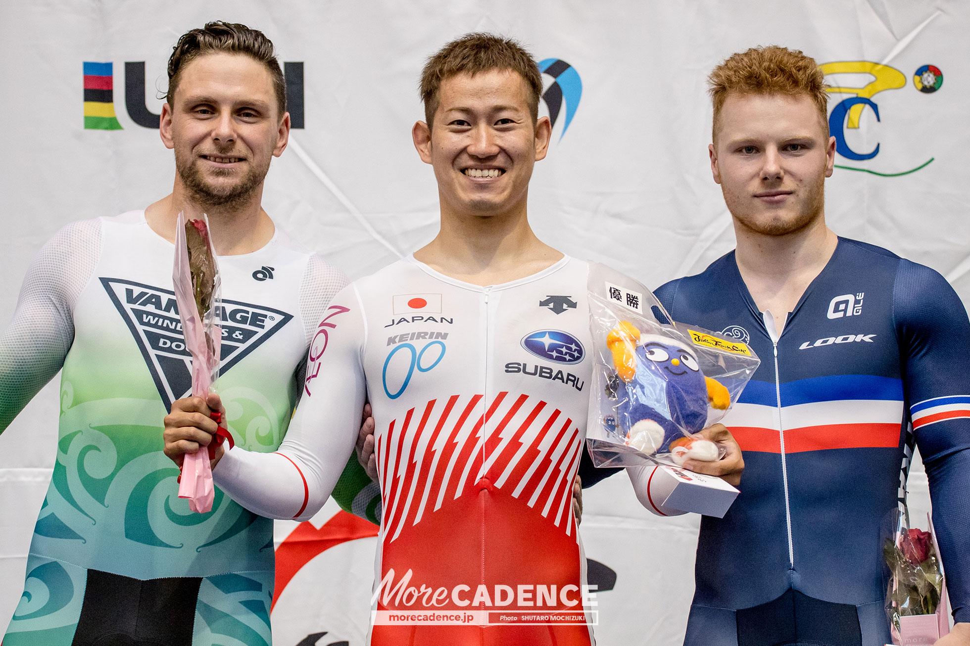 2018 Japan Track Cup 1 - Men's Keirin Final