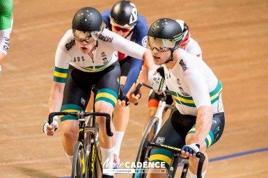 「世界選手権大会への良いステップ」オーストラリアのウェルスフォード&オブライエンが大差で連覇/2018ジャパントラックカップⅡ・男子マディソン