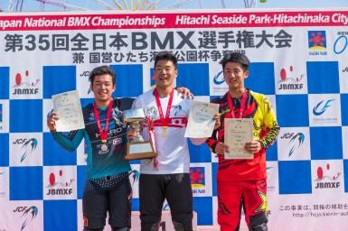 全日本BMX男子エリートで松下巽が自身初のタイトル獲得!/第35回全日本BMX選手権大会