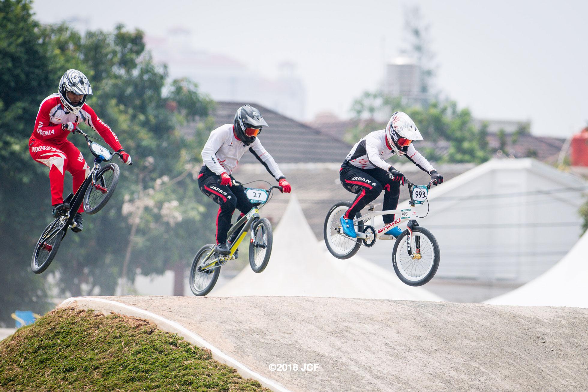 アジア大会2018 BMXレース長迫吉拓