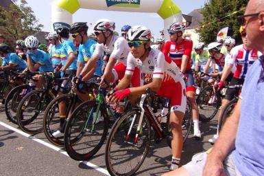 メイン集団でのゴール、終盤の落車で結果残せず/ツール・ド・ラヴニール 第2ステージ