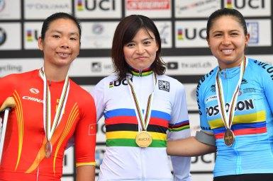 野口佳子が2年連続の世界選手権優勝/UCIパラサイクリング・ロード世界選手権2018