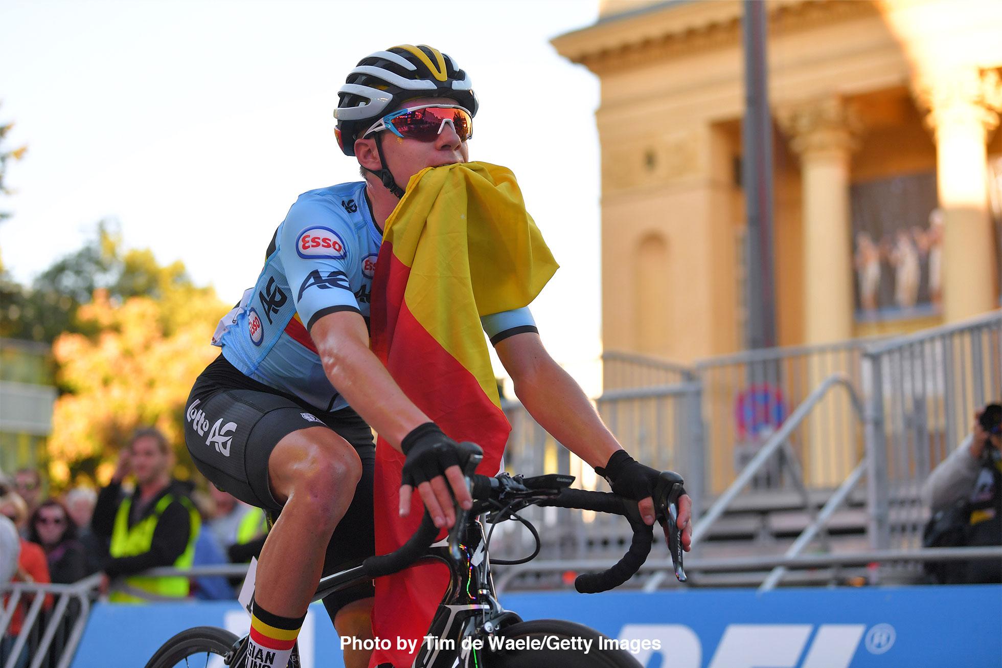 2018ロード世界選手権男子ジュニアロードレースのレムコ・イヴェネプール