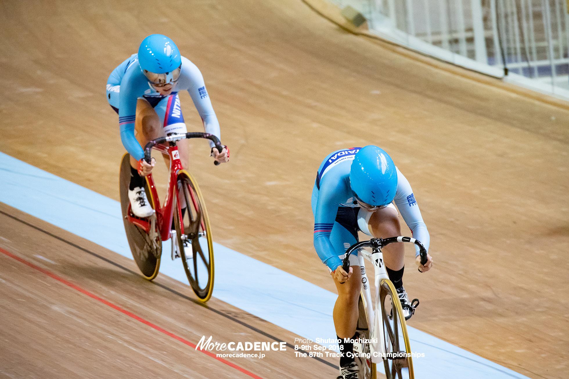 2018全日本選手権トラック女子チームスプリント