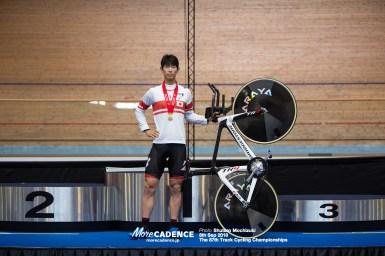 「チャンスがあると思った」沢田桂太郎が大会新で1kmTT優勝/全日本選手権トラック2018 1日目