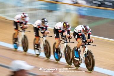 大会新!ブリヂストンが圧倒的な速さで優勝/2018全日本選手権トラック・男子チームパシュート