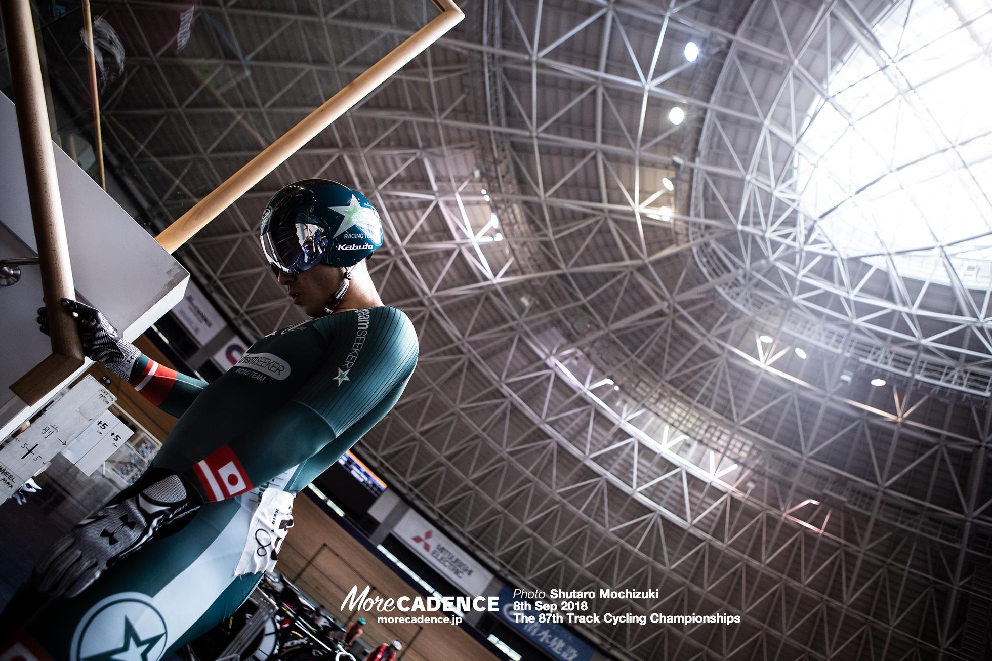 2018全日本選手権トラック男子スプリント