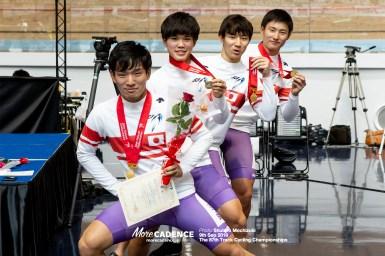明治大学が2連覇、全日本王者に/2018全日本選手権トラック・男子チームスプリント