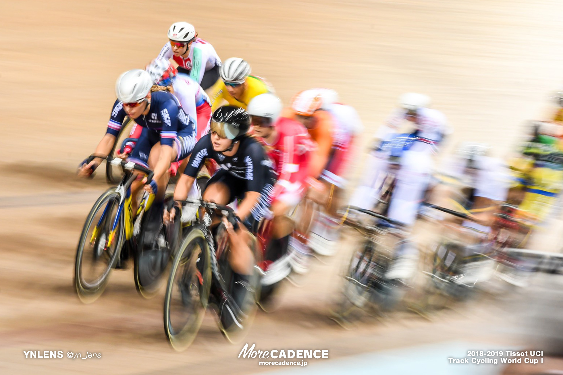 2018-2019 TRACK CYCLING WORLD CUP I Women's Point Race