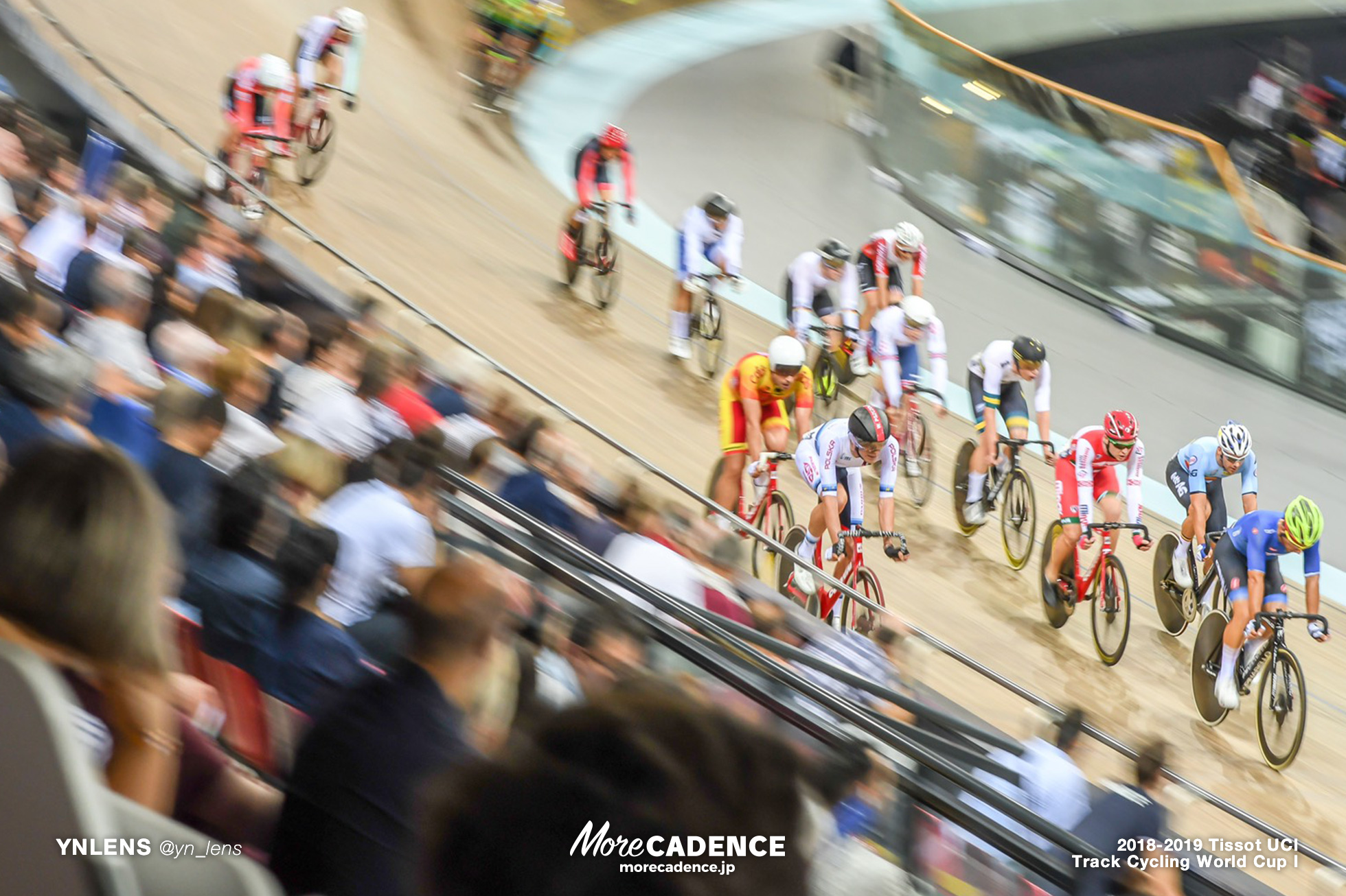 2018-2019 TRACK CYCLING WORLD CUP I Men's Point Race