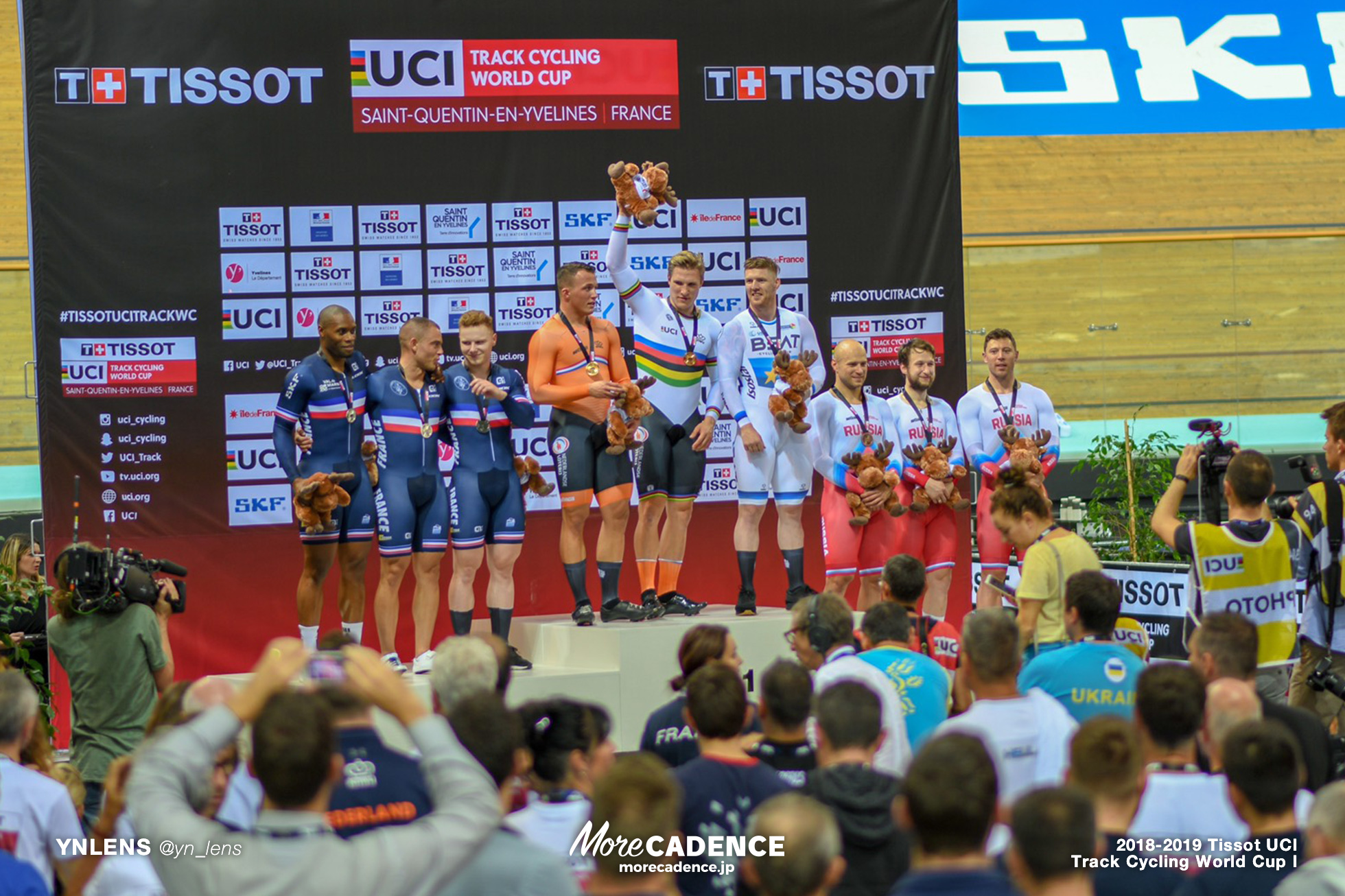 2018-2019 TRACK CYCLING WORLD CUP I Men's Team Sprint