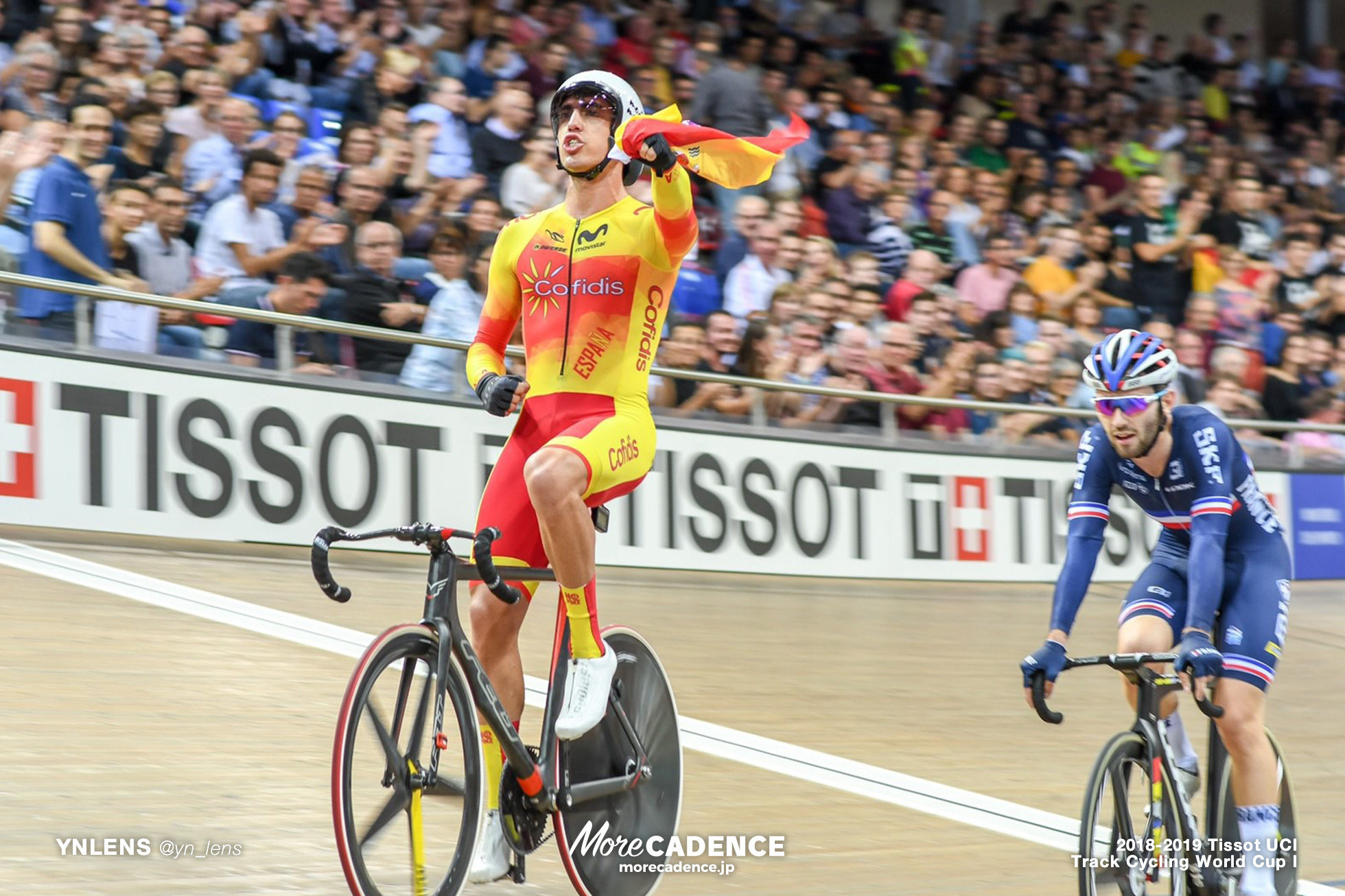 2018-2019 TRACK CYCLING WORLD CUP I Men's Omnium