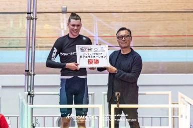 キーランド・オブライエンが優勝、オーストラリア勢がワンツー/トラックパーティー2018 in AUTUMN・男子エリミネーション